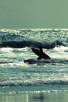 逆光 Night Surf