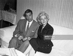 Marilyn Monroe and Joe DiMaggio, circa 1954.