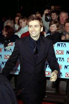 David Tennant At The 2006 National Television Awards #ThrowbackThursday #davidtennant