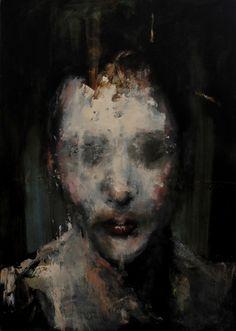 Jean-Luc Almond  Plastic  oil on canvas