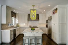 Transitional Kitchen Design Ideas, Pictures, Remodel and Decor