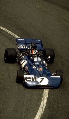 Tyrell-Ford 002 driven by Francois Cevert at the 1972 French Grand Prix