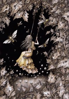 Illustrations by Adam Oehlers Fairytale Art, Gothic Art, Whimsical Art, Pretty Pictures, Amazing Art, Illustrators, Fantasy Art, Cool Art, Art Projects