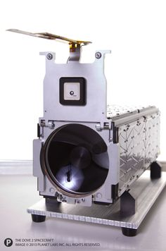 A close-up of Planet Labs' Dove 2 Earth-imaging cubesat, which launched to orbit in April 2013. Credit: Copyright Planet Labs, Inc