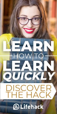 Learn the brain hack you never learned in school! Quick comprehension is key in today's world, and this course can teach you how. #learning #brainhack #speed learning Self Development, Personal Development, Learning Ability, Brain Tricks, Learning Techniques, Amazing Life Hacks, Train Your Brain, Learn Faster, Gym Workout Tips