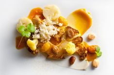 Cauliflower Roasted With Grapes, Almonds and Curry Recipe - NYT Cooking