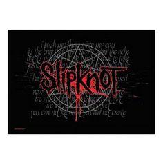 Slipknot Splattered Fabric Poster
