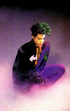 """You ever dance with the devil in the pale moonlight?"" ~quote from the movie 'Batman'. May 27, 1989...... Prince shot the video for Batdance.    #Prince    #PurpleOne"