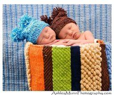 Baby Hat Newborn Hat Pom Pom Hat Photography by BostonAvenueBabies, $10.99