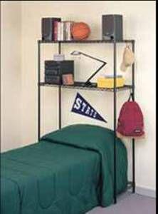 Metal Shelf Headboard