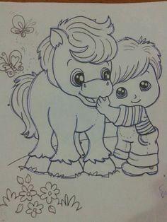 Menino e cavalo2