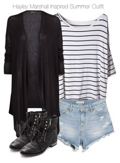 """""""The Originals - Hayley Marshall Inspired Summer Outfit"""" by staystronng ❤ liked on Polyvore"""