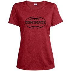 Ladies' Football Dri-Fit T Shirt