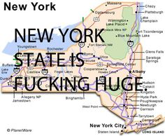 Being annoyed at people who assume you're from New York City when you say you're from New York.   49 Things People From Upstate New York Love