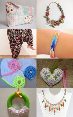Flowers and Colors by Füsun Dokuz on Etsy--Pinned with TreasuryPin.com