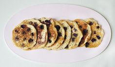Easter Brunch Menu - Mascarpone Blueberry Pancakes
