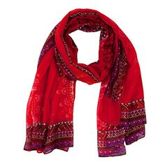 New Trends, Lady In Red, Alexander Mcqueen Scarf, Denim, Fabricant, Amazon Fr, Women, Style, Unique
