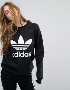 Adidas Originals Lässiges Dreiblatt T Shirt Grau Herren