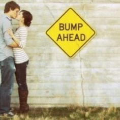 Cute baby announcement pic:)