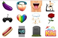 Gay dating app Grindr has launched its very own set of emojis.