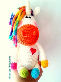 Want to make something like this amigurumi horse for my little sister!