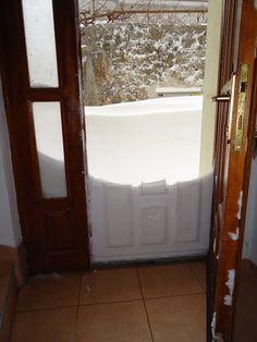 Snow in Mostar, Bosnia. Photo: Katie McCraw