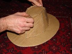 How to Make a Fedora (Indiana Jones') : 8 Steps (with Pictures) - Instructables Michael Jackson Party, Doll Shoe Patterns, Felt Hat, Indiana Jones, Doll Shoes, Hats, How To Make, Pictures, Form Drawing