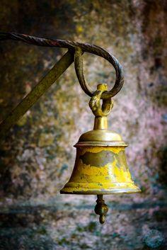 dutourdumonde-photography:  Bell in a temple in Kathmandu, Nepal