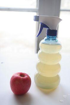 homemade veggie wash  homemadeginger.com