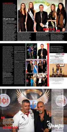 "MOREL BOLEA Fondatore KASTA MORRRELY - ROMANIAN Fashion - Magazine with 3 pages: A ""Tu per tu"" con il fondatore della Kasta…"