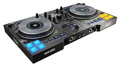 Hercules Dj Controller USB For Serato With In-jog LED Displays Show AIR Controls #HerculesDJ