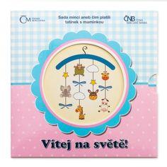 Sada oběžných mincí 2015 Narození dítěte stand   Česká mincovna Sad, Diet