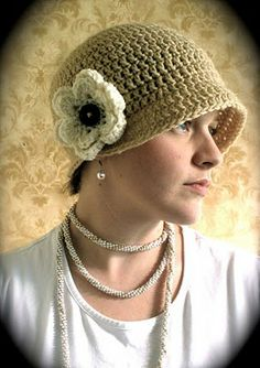 the flip flapper. etsy. The flower is removable and the brim can be flipped up. very nice. np