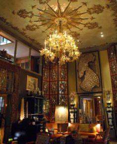 Tony Duquette Dawnridge Beverly Hills | Video Tour of Dawnridge - Tony Duquette's Hollywood Fantasy House ...