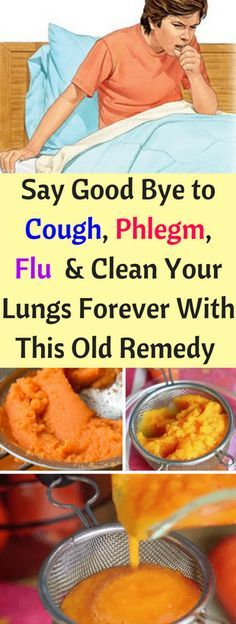 Simple Homemade Syrup Cures Cough & Removes Phlegm From The Lungs!!!!! - All What You Need Is Here
