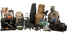 The Z.E.R.O. (Zombie Extermination, Research and Operations) Kit by OpticsPlanet has everything you need to survive the zombie apocalypse (except food and guns) for just $24,000.