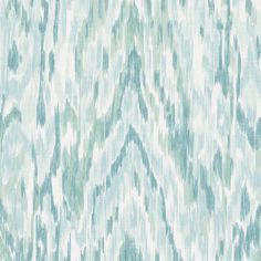 Aqua Dappled Watercolor Cotton Fabric 18in