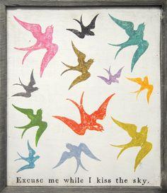 Image of Sparrow Art Print -- art inspiration