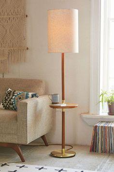 Assembly Home Edda Floor Lamp - Urban Outfitters #floorlamps #LampPied