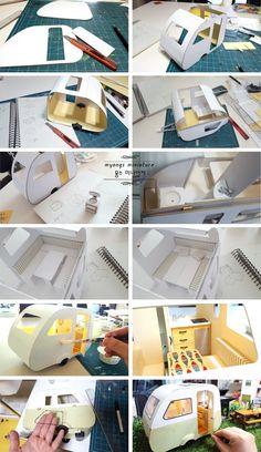 캠핑카 미니어처 완성Myongs miniature 드뎌 완성~!나름~나름 만드는 재미가 있었던 작업이에요..^^ 첨 만...