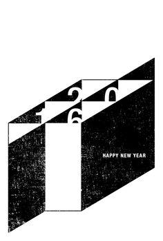 申 | 年賀状 2016 | Postcard Design Happy New Year 2016, New Years 2016, New Year Card Design, New Year Greetings, New Year Celebration, Name Cards, Typography, Design Inspiration, Symbols