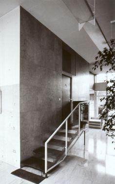 mario asnago e claudio vender - edificio per abitazioni, via verga 4, milano, 1961