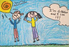 """""""I Like It"""" by Kelsey L.,, 3rd Grade, North Port, Florida, 2011 Embracing Our Differences Exhibit, via embracingourdifferences.org"""