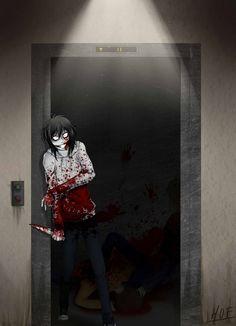 Jeff the killer - Elevator by House-0f-Freak on DeviantArt ^^^ Going down?