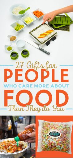 27 Gifts For People Who Care More About Food Than They Do You