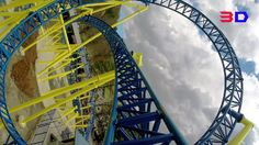 Impulse 3D front seat on-ride HD POV @60fps Knoebels Amusement Resort