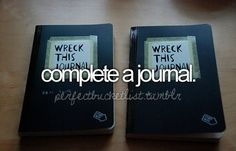 I've started one last year and still occasionally add to it. Before I die a journal will be complete.