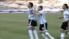 Goles de tiro libre de Juan Román Riquelme a Chile Eliminatorias 2010