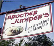 After a long night, check out the Best Breakfast in Memphis at Brother Juniper's!  Great reviews here: http://www.yelp.com/biz/brother-junipers-memphis