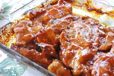 Easy Oven Baked BBQ Riblets